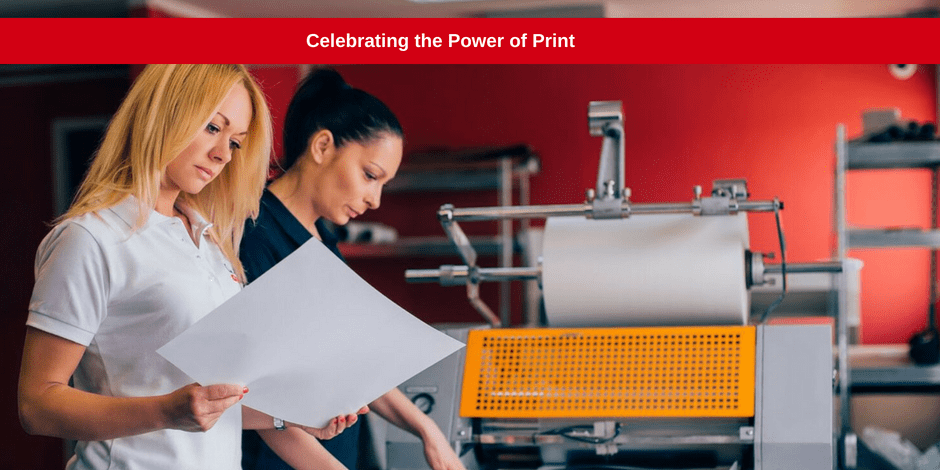 Celebrating the power of print