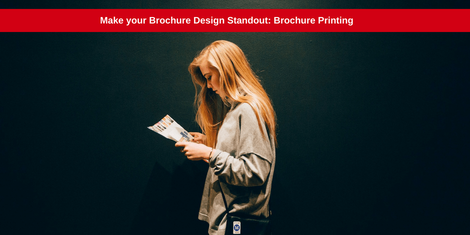 Make your brochure design standout