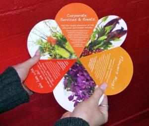 Unique brochure design